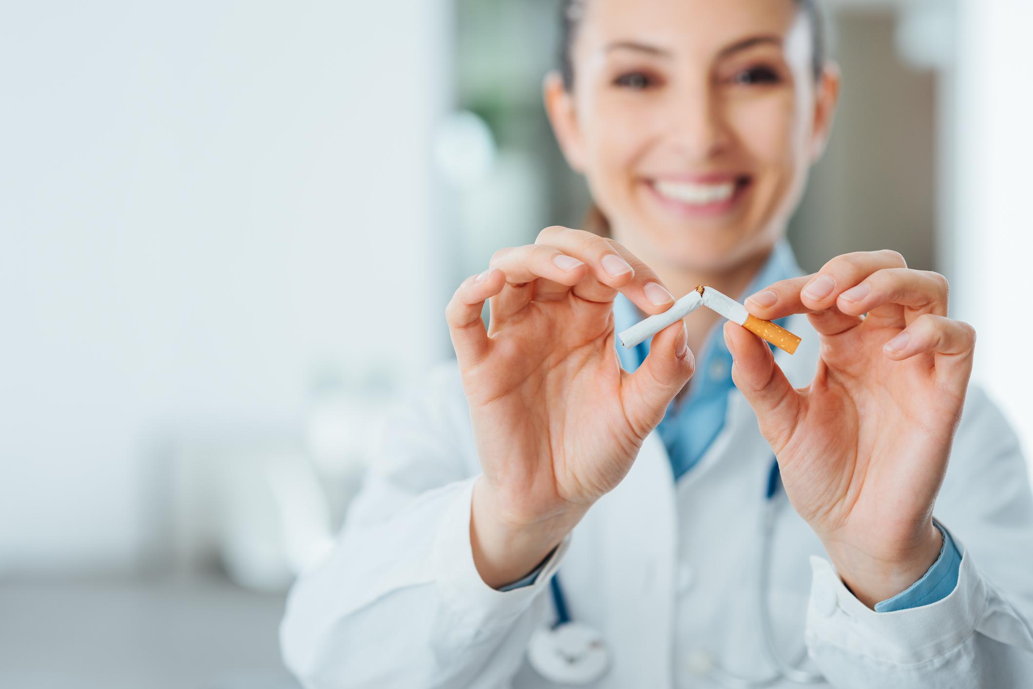 Ao parar de fumar, os ex-fumantes têm uma melhora no paladar e no olfato. Junto a isso, existe também uma necessidade de ter algo para fazer com a boca.