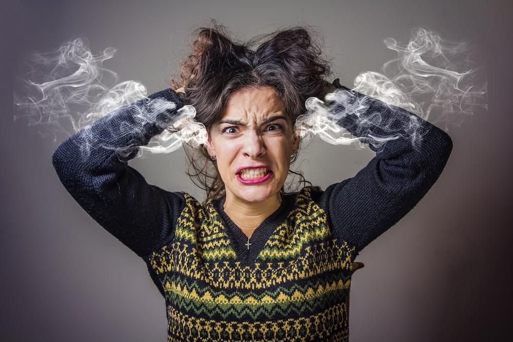 Estudos estimam que pessoas que sentem muita irritação e raiva têm quatro a cinco vezes mais chances de desenvolver doenças do coração que pessoas menos iradas.
